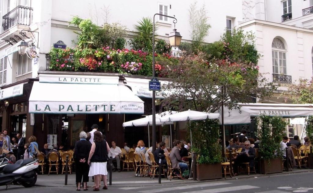 La Palette, café restaurant à Saint-Germain-des-Prés - Paris