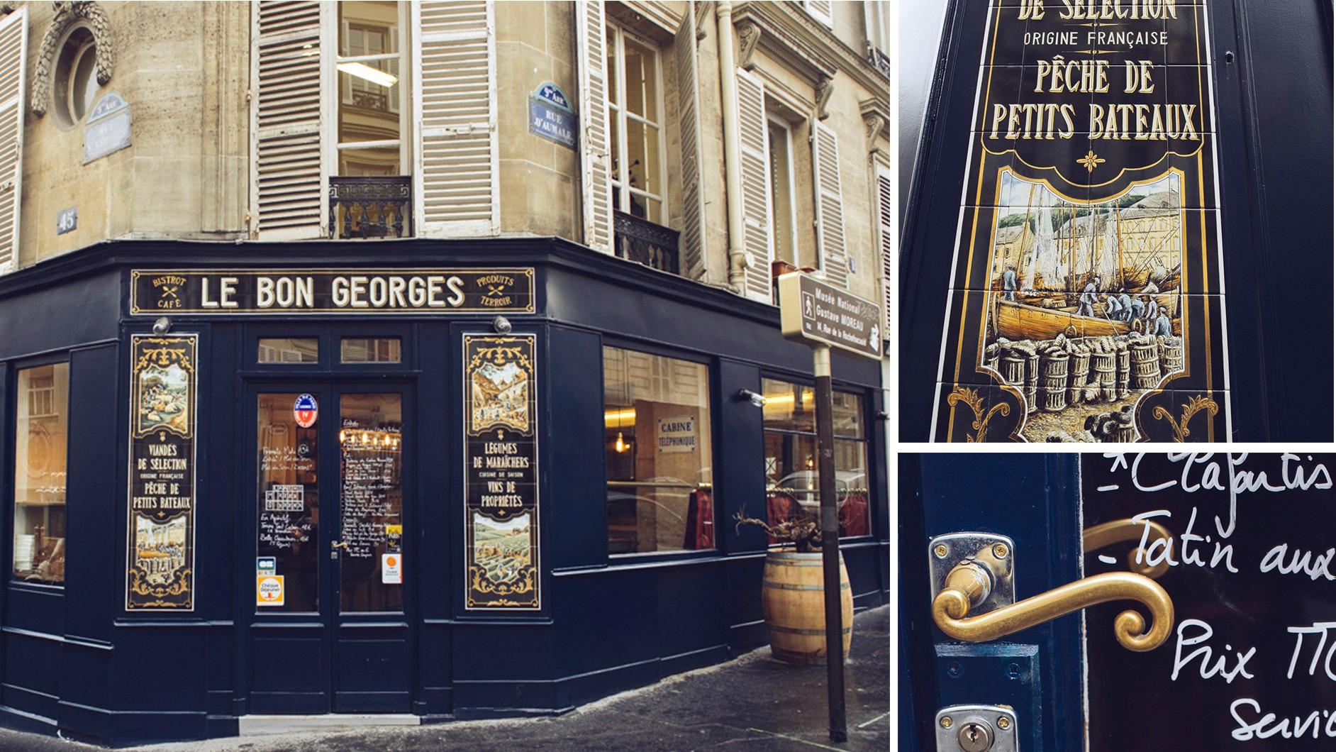Le bon Georges, bistrot parisien