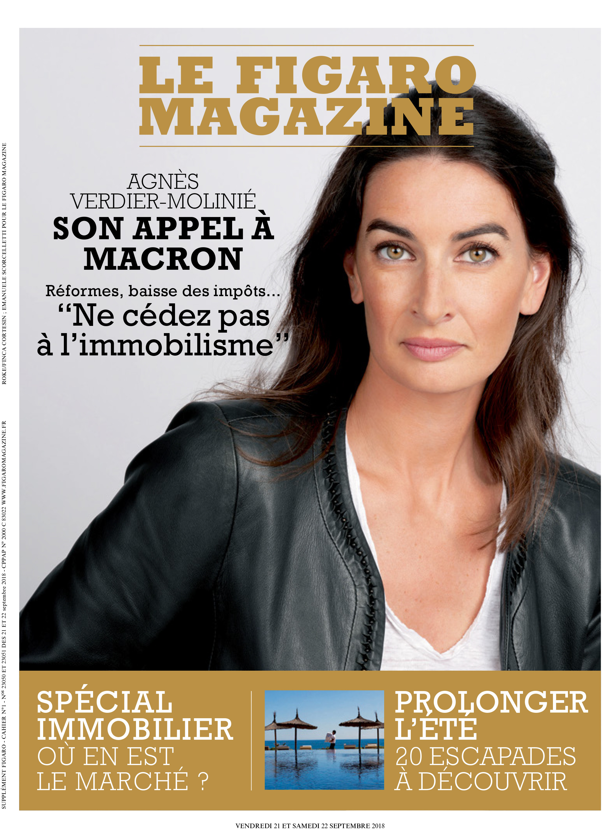 FIGARO MAGAZINE SPÉCIAL IMMOBILIER 21 TO 22 SEPTEMBER 2018