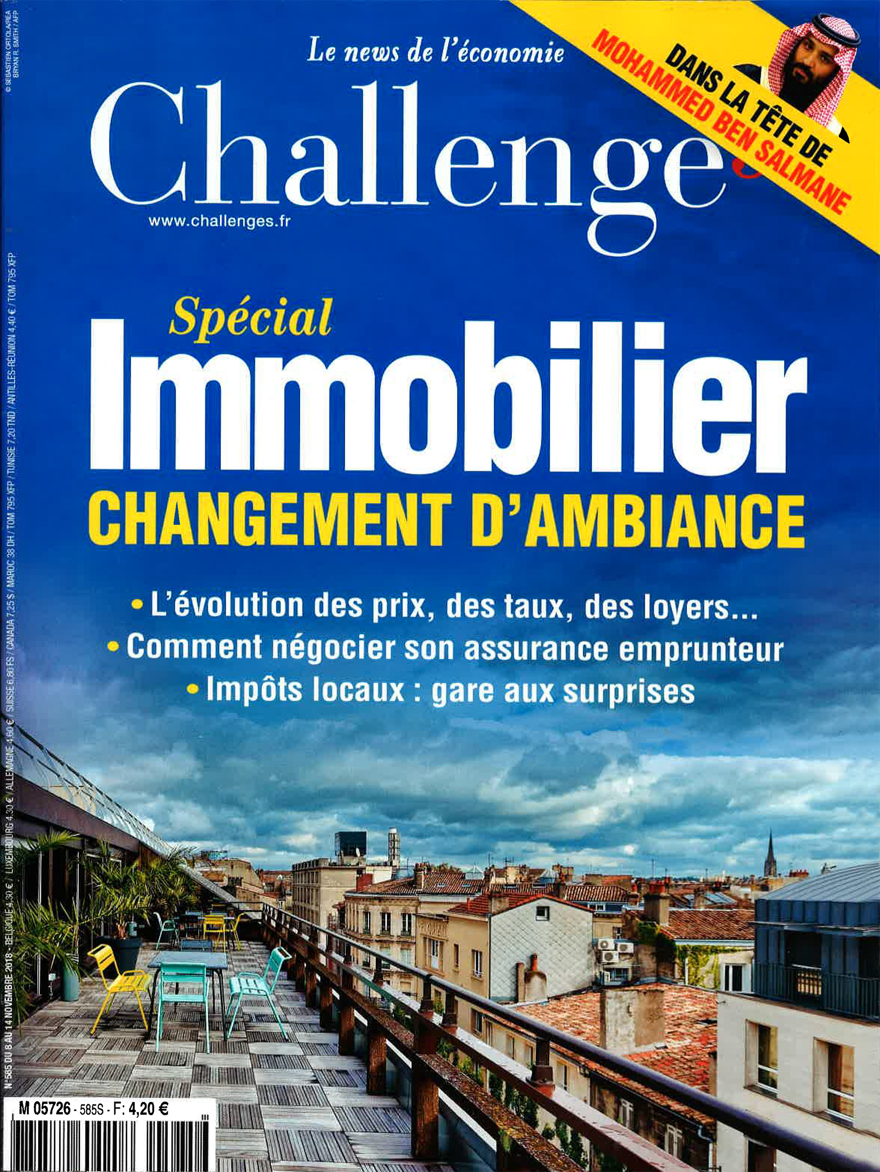 CHALLENGES MAGAZINE - REAL ESTATE SPECIAL - NOVEMBER 2018