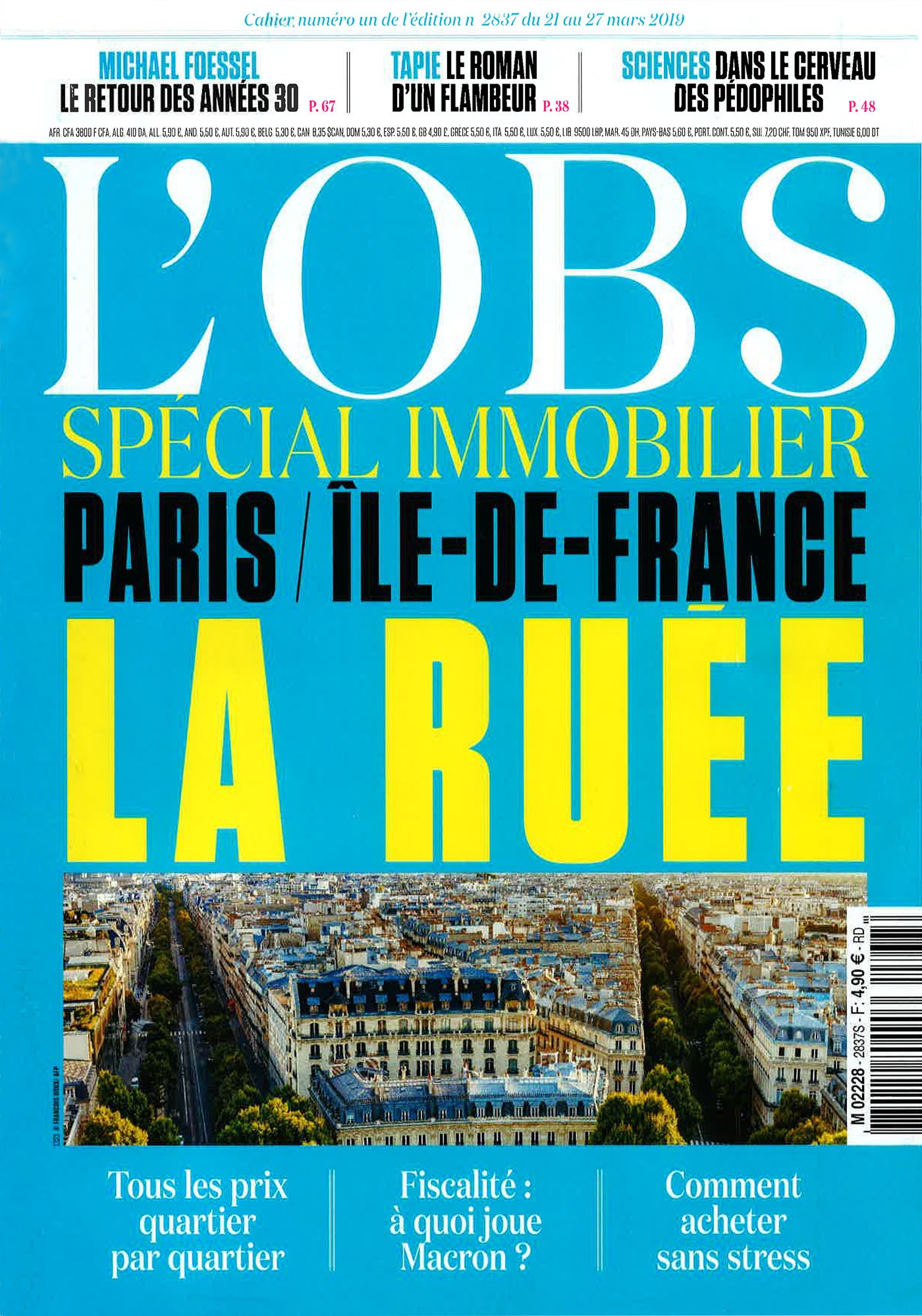 L'OBS - Spécial Immobilier - Mars 2019