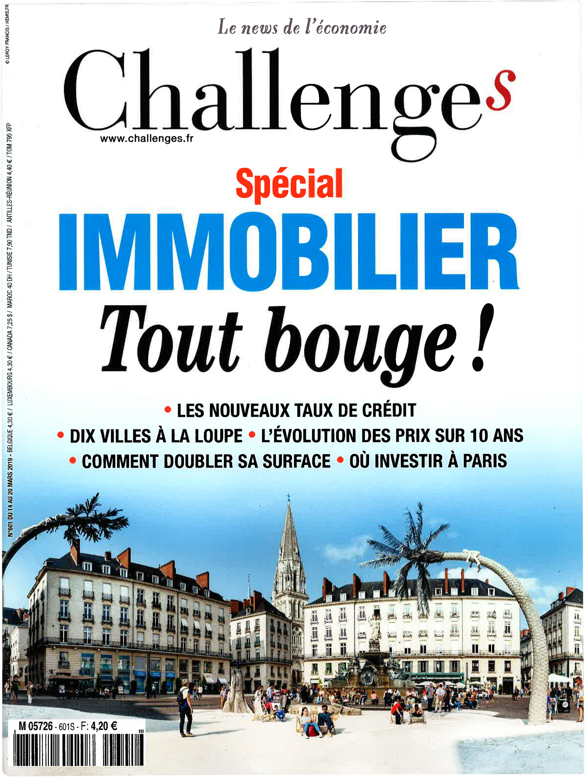 Magazine Challenges - Spécial Immobilier - Mars 2019