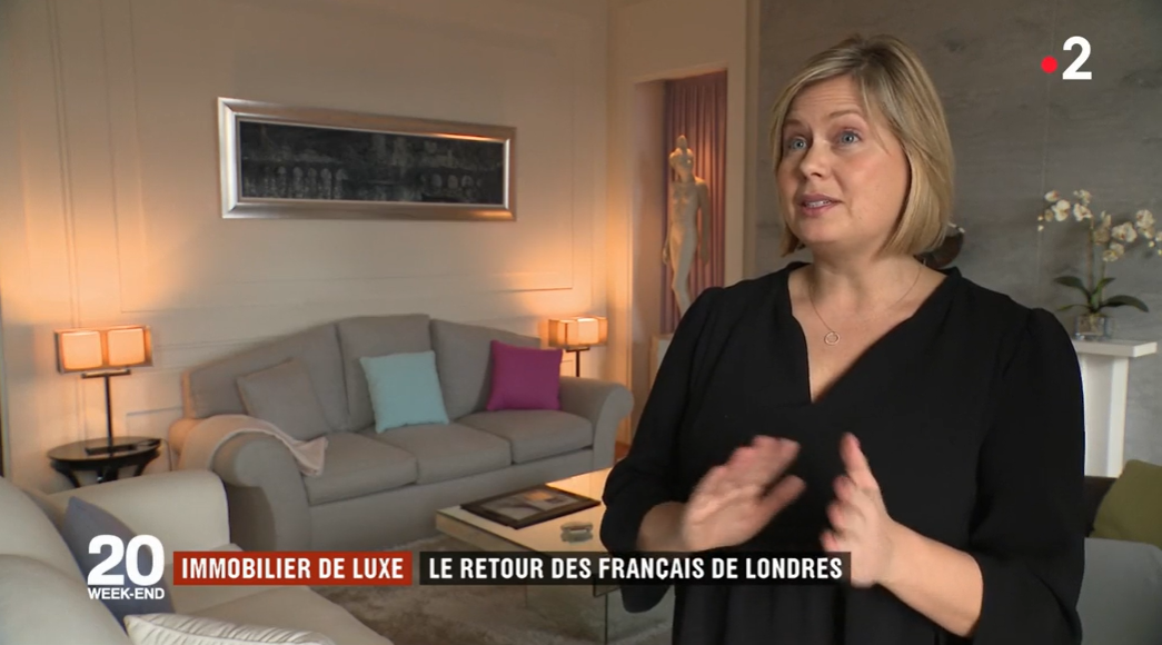 INTERVIEW FRANCE 2 - The impact of Brexit on uxury Parisian real estate