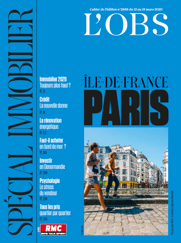 L'OBS - CAHIER SPÉCIAL IMMOBILIER - MARS 2020